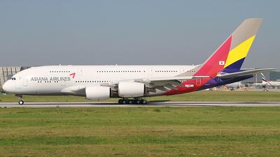 A picture of FWWSU - Airbus A380 - Airbus - © Dennis Schramm