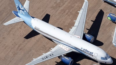 VP-CCZ - Airbus A320-214 - Interjet