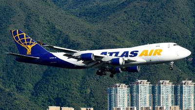 N486MC - Boeing 747-45EF(SCD) - Atlas Air