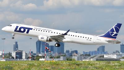A picture of SPLND - Embraer E195LR - LOT - © Bartosz Karwowski