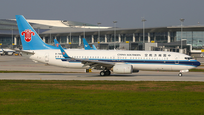 A picture of B7968 - Boeing 73781B - China Southern Airlines - © SEN BAI