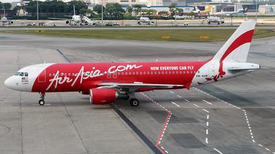 9M-AHB - Airbus A320-216 - AirAsia