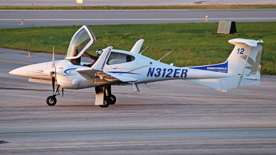 N312ER - Diamond DA-42 NG Twin Star - Embry-Riddle Aeronautical University (ERAU)