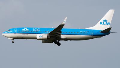 A picture of PHBXY - Boeing 7378K2 - KLM - © Wilko Doodhagen