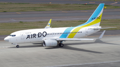 A picture of JA09AN - Boeing 737781 - Air Do - © zota