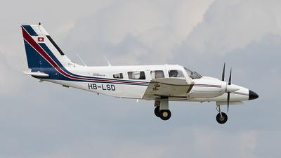 HB-LSD - Piper PA-34-200T Seneca II - Twin Flyer Club Basel