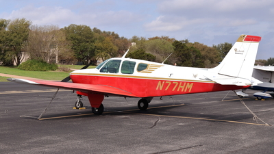 N77HM - Beechcraft 35-33 Debonair - Private