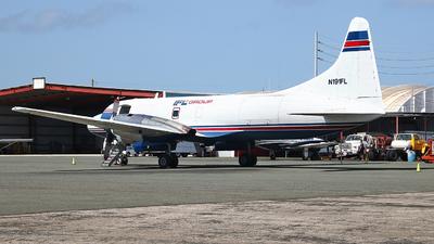 A picture of N191FL - Convair CV580 - IFL Group - © Angel Natal