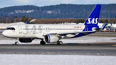 SE-RUE - Airbus A320-251N - Scandinavian Airlines (SAS)