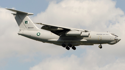 R09-001 - Ilyushin IL-78M Midas - Pakistan - Air Force