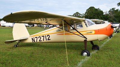 N72712 - Cessna 140 - Private