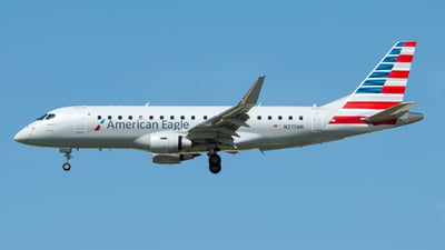 A picture of N275NN - Embraer E175LR - American Airlines - © charly1684