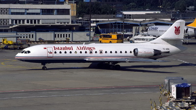 TC-ABA - Sud Aviation SE 210 Caravelle 10R - Istanbul Airlines