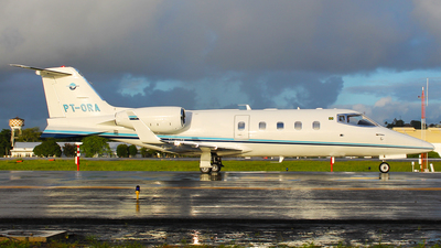 PT-ORA - Bombardier Learjet 55 - Weston Taxi Aéreo