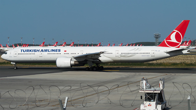 A picture of TCJJV - Boeing 7773F2(ER) - Turkish Airlines - © Furkan Borakazi