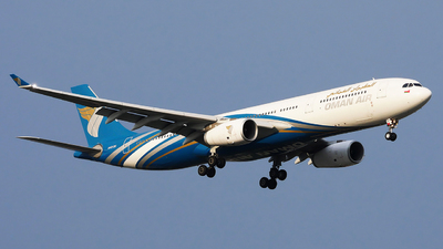 A picture of A4ODH - Airbus A330343 - Oman Air - © Woody Wuthiwong