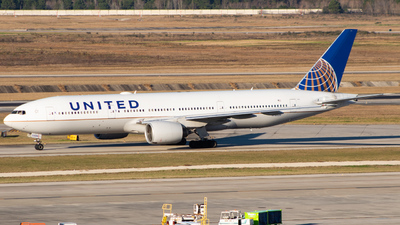 A picture of N780UA - Boeing 777222 - United Airlines - © DreamRiser