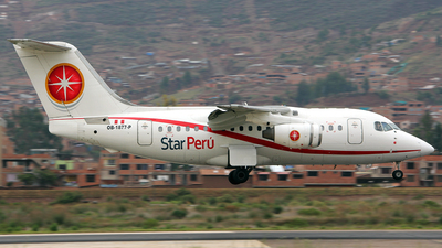 OB-1877-P - British Aerospace BAe 146-100 - Star Perú