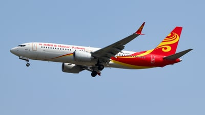 B-207S - Boeing 737-8 MAX - Hainan Airlines