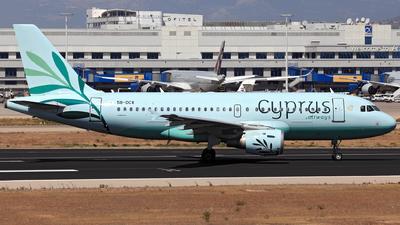 5B-DCX - Airbus A319-114 - Cyprus Airways