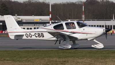 OO-CBB - Cirrus SR20-G6 - Private