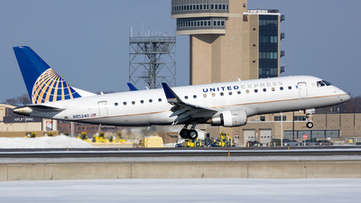 A picture of N85340 - Embraer E175LR - United Airlines - © Stephen J Stein