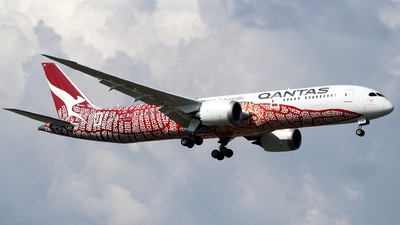 A picture of VHZND - Boeing 7879 Dreamliner - Qantas - © Timothy Brandt