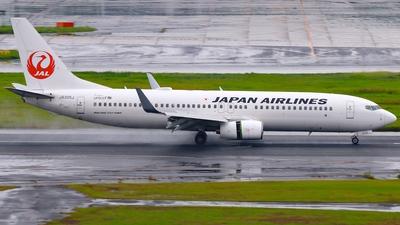 JA335J - Boeing 737-846 - Japan Airlines (JAL)