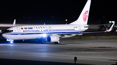 A picture of B1958 - Boeing 73789L - Air China - © ZUCK-ZX