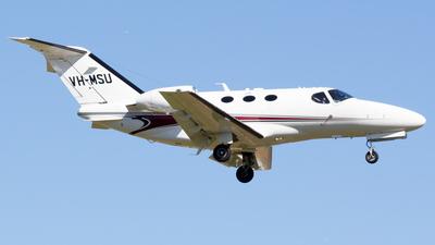 A picture of VHMSU - Cessna 510 Citation Mustang - [5100300] - © Gavan Louis