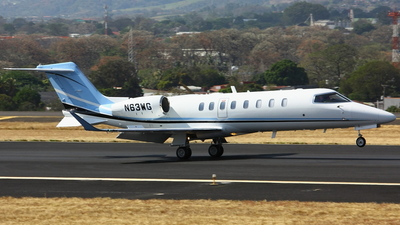 A picture of N63WG - Learjet 75 - [45486] - © Jorge andres solano sancho