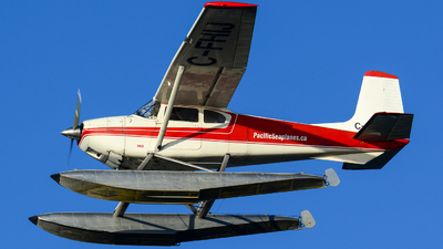 C-FHIJ - Cessna 180 Skywagon - Pacific Seaplanes