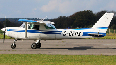 G-CEPX - Cessna 152 - Private