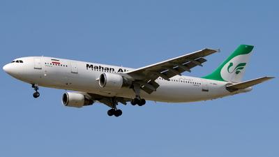 A picture of EPMMO - Airbus A300B4622R - Mahan Air - © Alireza Khodakarami