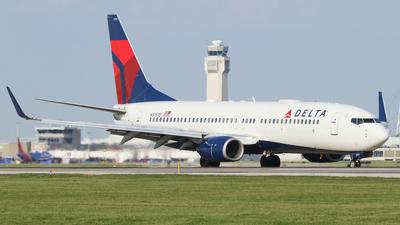 N3757D - Boeing 737-832 - Delta Air Lines
