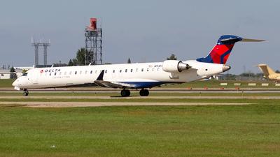A picture of N910XJ - Mitsubishi CRJ900LR - Delta Air Lines - © Jeremy D. Dando