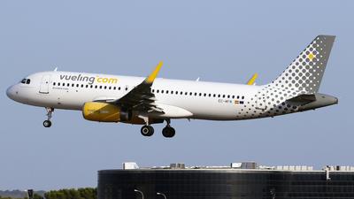 A picture of ECMFM - Airbus A320232 - Vueling - © Javier Rodriguez - Amics de Son Sant Joan