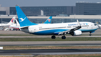 A picture of B5301 - Boeing 73785C - Xiamen Air - © Lazy Clutch
