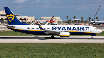 A picture of EIEPC - Boeing 7378AS - Ryanair - © Chris Camille