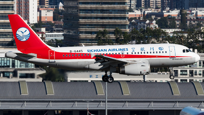 A picture of B6445 - Airbus A319133 - Sichuan Airlines - © SZ4509