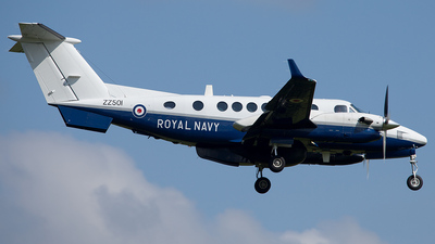 ZZ501 - Beechcraft 350ER Avenger T.1 - United Kingdom - Royal Navy