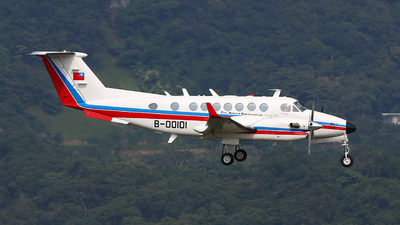 B-00101 - Beechcraft B300 King Air 350 - Taiwan - Civil Aeronautics Administration