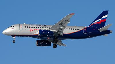 A picture of RA89109 - Sukhoi Superjet 10095B - Rossiya - © OSDU