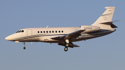 N192HA - Dassault Falcon 2000 - Private
