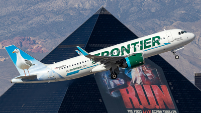 A picture of N350FR - Airbus A320251N - Frontier Airlines - © 702Aviationn