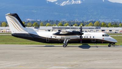 A picture of CFHNC - De Havilland Canada Dash 8300 - North Caribou Flying Service - © HA-KLS