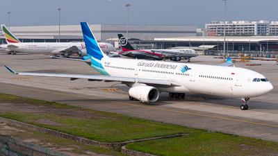 A picture of PKGPE - Airbus A330341 - Garuda Indonesia - © Shiori Daredemo Daisuki