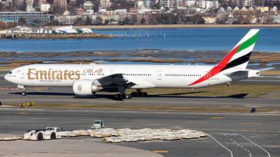 A picture of A6ECH - Boeing 77731H(ER) - Emirates - © OCFLT_OMGcat