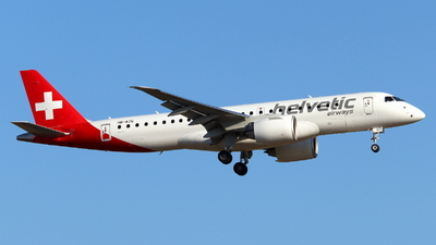 HB-AZG - Embraer 190-300STD - Helvetic Airways