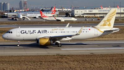 A9C-TA - Airbus A320-251N - Gulf Air